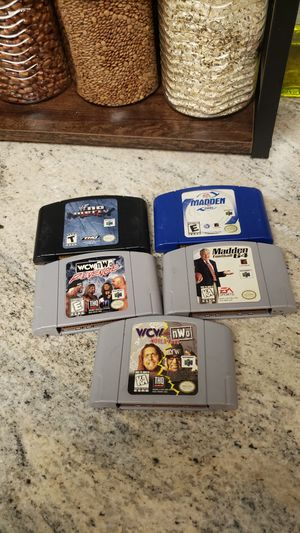 Nintendo 64 Games for Sale in Clearwater, FL