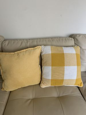 Brand new yellow pillows! for Sale in Hermosa Beach, CA
