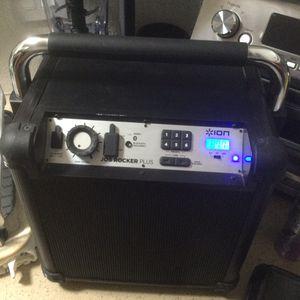 Ion Job Rocker Plus Karoke Speaker for Sale in Fresno, CA