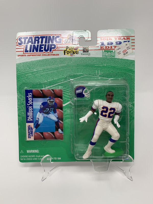 Vintage New York Giants Great Phillippi Sparks STARTING LINEUP ACTION FIGURES (1) [Brand New]