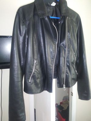 Leather jacket women h&m for Sale in Washington, DC