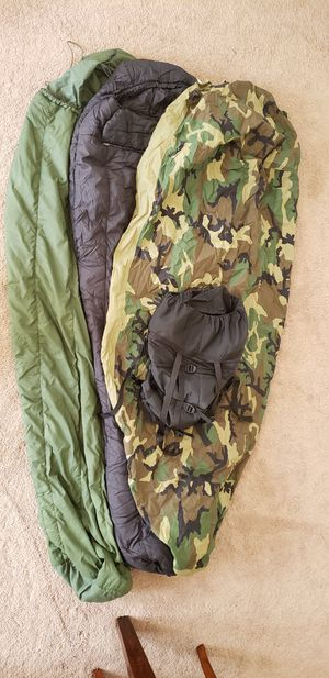 US GI military sleeping bag system for Sale in Grove City, OH