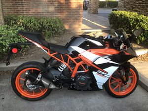 2018 KTM RC390 with 435 miles for Sale in Bedford, TX