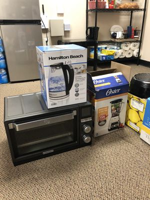 Salvage Non Working Kitchen Appliances Bundle Sale for Sale in Richardson, TX