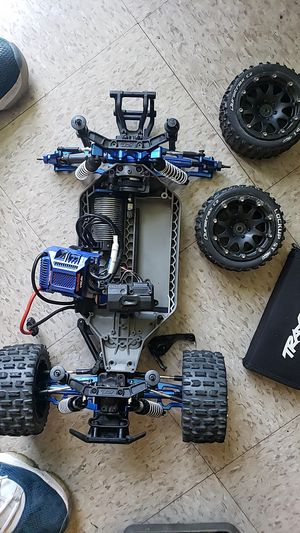 Traxxis 4x4 6s with up grade parts for Sale in Ithaca, NY