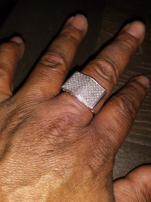 .925 silver ring condition9/10 for Sale in Detroit, MI