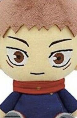 Jujutsu Kaisen Yuji Itadori Official Plush Doll Chibi Anime Japan Manga for Sale in Fairfax,  VA