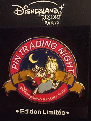 Disney Paris Pin Trading Night White Rabbit Alice In Wonderland for Sale in Coto de Caza, CA