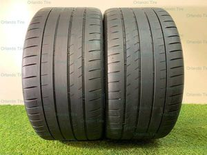 R126 275 35 19 Michelin Pilot Sport 4 S - 2 used tires 275/35R19 for Sale in Orlando, FL