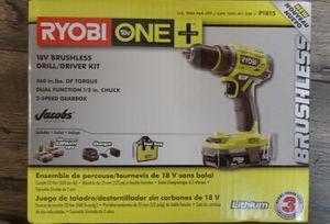 RYOBI 18V BRUSHLESS DRILL/DRIVER for Sale in Ogden, UT