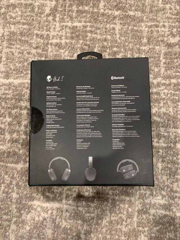 Skullcandy Hesh 3 Wireless Over-Ear Headphones OPEN BOX NEVER USED