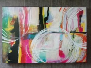 Z Gallerie Modern Abstract Gloss Art Painting for Sale in Phoenix, AZ