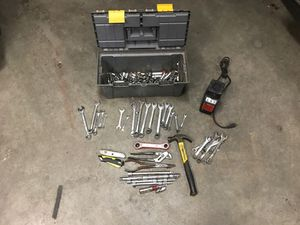 Hand tools and Drill bit Sharpener for Sale in Broken Arrow, OK