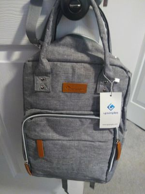 Infant Diaper Bag, Grey for Sale in District Heights, MD
