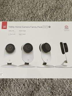 Home Security Camera 4 Pack. Yi for Sale in Lake Oswego,  OR
