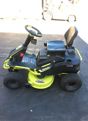 Electric Riding Lawn Mower Ryobi Brushless RM480 e RY48110 for Sale in Rancho Cucamonga, CA