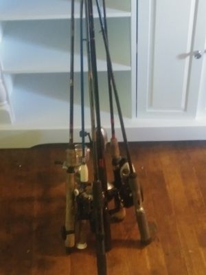 Fishing rods and reels for Sale in Hamilton Township, NJ