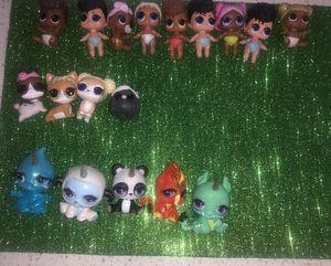 Lol surprise cutie tootsie's & lol lil dolls & pets for Sale in West Palm Beach, FL