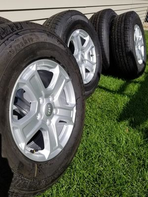 "17"" Jeep Wrangler Wheels & Michelin Tires for Sale in Chicago, IL"
