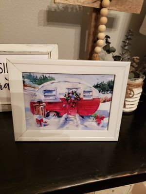 New Red camper Christmas picture for Sale in Ocala, FL