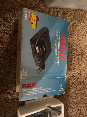 RCA Car/Personal CD player for Sale in Rialto, CA