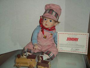 """DANBURY MINT """"JIMMY"""" DOLL for Sale in Austin, TX"""