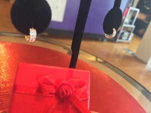 Baby Girl's Real Diamond 14K Gold Earrings!🎁 for Sale in Nashville, TN
