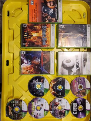 XBox 360 with 12 games for Sale in Mechanicsburg, PA