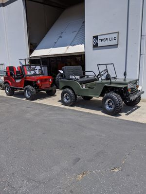 Army willy Jeep 125cc kids atvs Shipping nationwide turbopowersports for Sale in Kansas City, MO