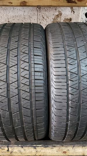 2 continental tires with size 275/40/22 for Sale in Washington, DC