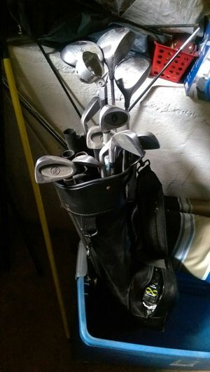 Golf clubs,ball retriever, and bag with tees and balls, MUST SELL. for Sale in Richmond, VA