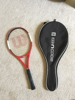 Wilson tennis racket for Sale in Folsom, CA