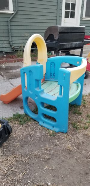 Slide and high chair for Sale in Ontario, CA