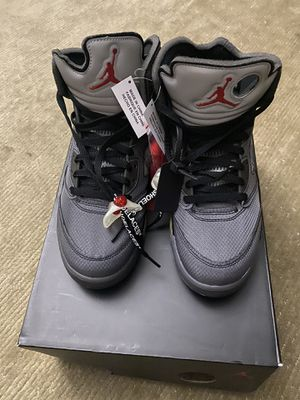 Off white Jordan 5 size 10.5 for Sale in Los Angeles, CA