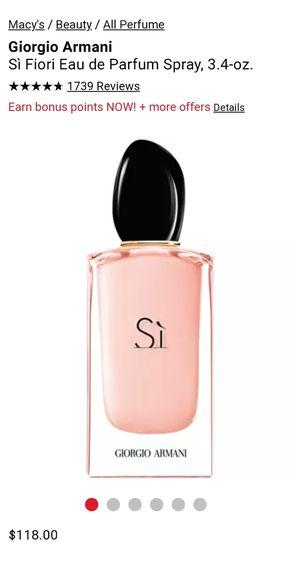 New Giorgio Armani fragrance for Sale in Montebello, CA