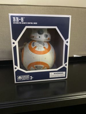 Star Wars BB-8 Interactive Remote Control Droid for Sale in Pembroke Pines, FL