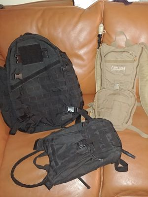 Military tactical backpack hydration pack for Sale in Spring Valley, CA
