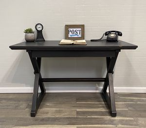 Black desk w/ drawer for Sale in Canby, OR