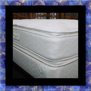 Twin mattress double pillowtop and box spring for Sale in Manassas, VA