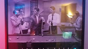 Rat Pack pool table wooden framed picture for Sale in Aubrey, TX