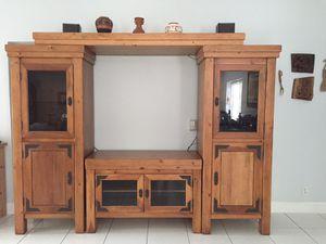 Solid pine storage unit for Sale in Oakland Park, FL