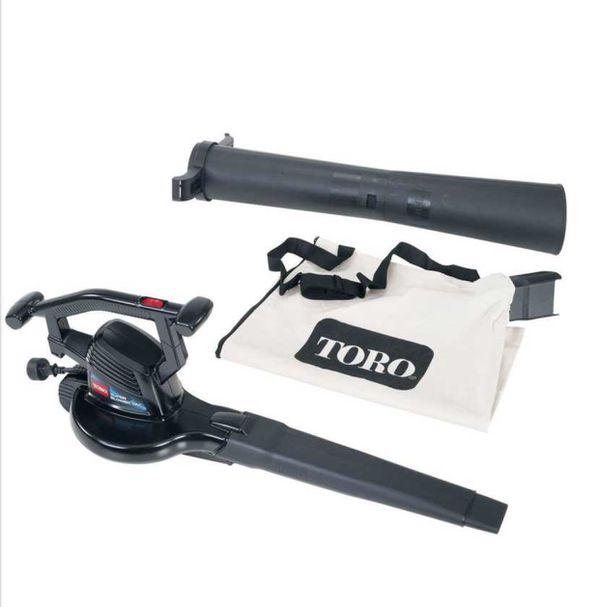 Toro electric leaf blower and vacuum
