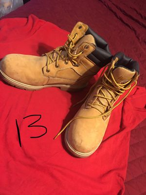 MENS SZ 13 WORK BOOTS for Sale in Clarksville, TN