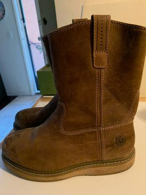 Muck Work boots size 9 and khombu boots size 9 new for Sale in Glendale, CA