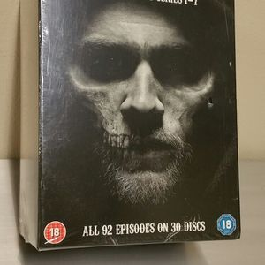"""SONS of ANARCHY"" - NEW!! - COMPLETE SERIES on DVD (Region 2) - pls. read full description for details - firm price. for Sale in Arlington, VA"