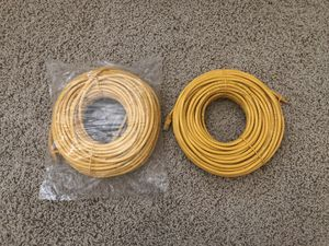 New Yellow 100 feet Cat 6 cable for Sale in Norco, CA
