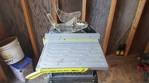 10-in table saw for Sale in Springfield, OR