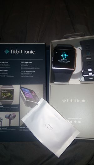 Fitbit ionic for Sale in Folsom, CA