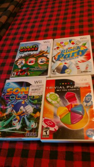 Wii games for Sale in North Fort Myers, FL