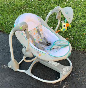 Ingenuity Convert Me Swing-2-Seat Portable Swing for Sale in Coral Springs, FL